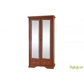 Шафа для одягу (2-х дверна із дзеркалами) Ш-1477 Росава БМФ