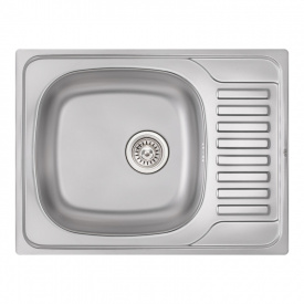 Кухонная мойка Qtap 6550 Satin 0,8 мм (QT6550SAT08) SD00040990