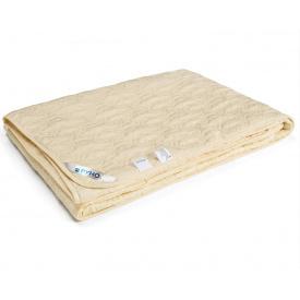 Одеяло шерстяное Руно Нежность евро полуторное молочное 155x210 см