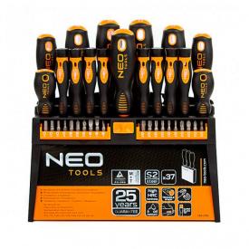 Набор отверток NEO Tools 37 шт