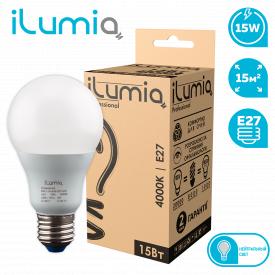 Светодиодная лампа ilumia 003 L-15-A65-E27-NW 1500Лм 15Вт 4000К