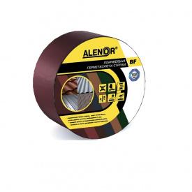 Покрівельна герметизуюча стрічка Alenor BF 100 мм 3 м бордова
