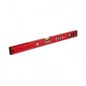 Рівень алюмінієвий MasterTool 60 см 2 вічка (37-0603)