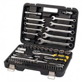 Профессиональный набор инструментов СТАЛЬ 82 шт (70008)
