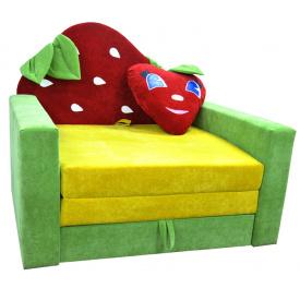 Малютка диван Ribeka Клубничка Зеленый (01M043)