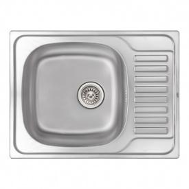 Кухонная мойка Qtap 6550 Micro Decor 0,8 мм (QT6550MICDEC08) SD00040992