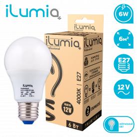 Светодиодная лампа ilumia 012 L-6-MO-E27- NW-12 600Лм 6Вт 12В 4000К