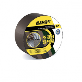 Покрівельна герметизуюча стрічка Alenor BF 100 мм 10 м коричнева