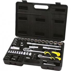 Набор инструментов профессиональный СТАЛЬ 72 предмета 70024