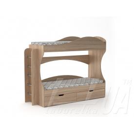 Двухъярусная кровать Компанит Бриз 2090х744х1670 мм