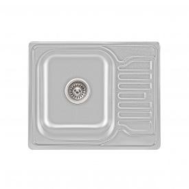 Кухонная мойка Lidz 5848 0,8 мм Satin (LIDZ5848SAT)