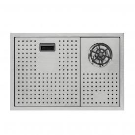 Кухонная мойка с крышкой и омывателем Qtap DC5638 3.0/1.2 мм Satin (QTDC56383012)