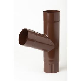 Тройник 70 градусов Plannja 150/100 коричневый