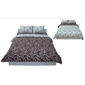 Комплект постельного белья Руно бязь GL-5400 Beige-brown двуспальный
