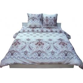 Комплект постельного белья Руно сатин 3602 Grey полуторный