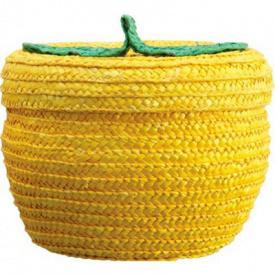 Кошик Natural House Фрукт жовта 18,5х21 см