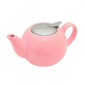 Чайник заварювальний керамічний Fissman 1250 мл рожевий