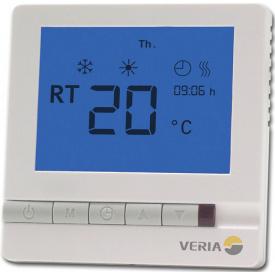 Програмований термостат для теплої підлоги Veria Control T45 (датчик підлоги)