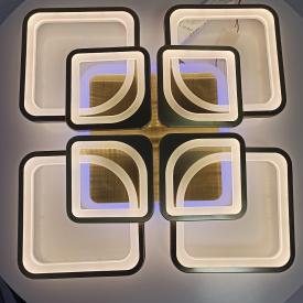 Люстра на пульте д/у Kube 8BR 192W RGB 3000-6000К 600*100мм 20-30кв/м