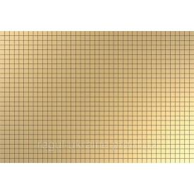 Панель ПВХ Регул Мозаика Золотая клетка 0,6х642х896мм