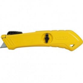 Нож монтажный Stanley безопасный для отделочных работ 165 мм