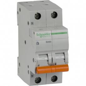 Автоматичний вимикач ВА63 1П+Н 40A C 4,5 кА