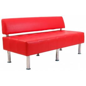 Диван Richman Офис Двойка 1550 x 680 x 750H см Со спинкой Boom 16 Красный