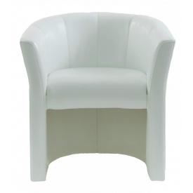 Кресло Richman Бум 650 x 650 x 800H см Lucky White Белое