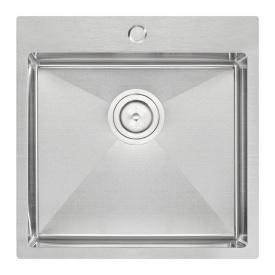 Кухонная мойка Qtap D5050 2.7/1.0 мм Satin (QTD505010)