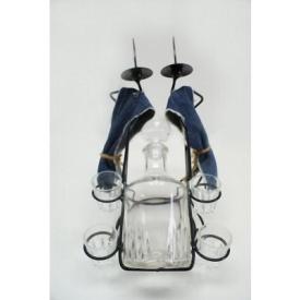 Підставка для пляшок Холодна ковка Чоловічок 2