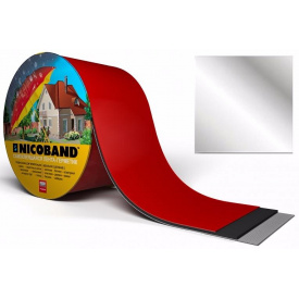 Самоклеюча стрічка Nicoband 10м 10 см срібляста