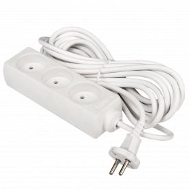 Подовжувач мережевий LogicPower LP-WX3 3 розетки 5 м без заземлення