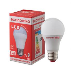 Светодиодная лампа Economka LED A60 7W E27 4200K