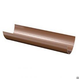 Жолоб Verat Техноніколь 125/82 мм коричневий