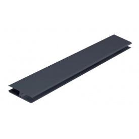 Планка соединительная VOX KERRAFRONT FS-282 графит 3 м