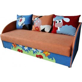 Детский диванчик Ribeka Мульти 1 Оранжевый (16M06)
