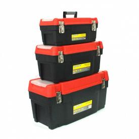 Набір ящиків для інструментів Forte 3-1622 М-4 3шт