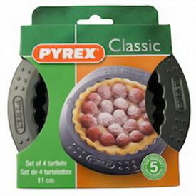 Форми Pyrex для тарталеток 4 шт