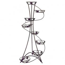 Подставка для цветов FlowerStand Спираль 8