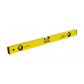 Рівень будівельний з магнітами MasterTool 60 см 3 капсули (35-0603)