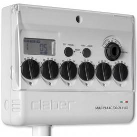 Таймер подачи воды Claber MULTIPLA AC 220/24 V LCD (80580000)