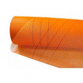 Сетка стекловолоконная Fiberglass оранжевая 160 50м2