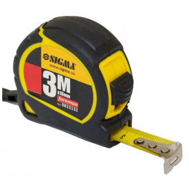 Рулетка Sigma Foreman 3мх16мм (3815131)