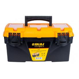 Ящик для інструменту з органайзером Sigma 410х209х195мм (7403791)