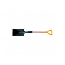 Лопата траншейная с черенком и ручкой MASTER TOOL 180x290x495мм L-1200мм (14-6270)
