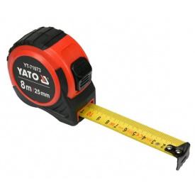 Рулетка YATO 8мx25мм (YT-71073)