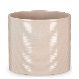 Кашпо для цветов Scheurich Inspiration 0,91л керамическое кремовое
