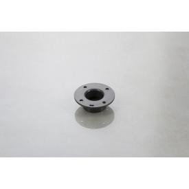Меблева ніжка Poliplast НП-8 регульована пластикова темно-сіра 20 мм