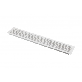 Вентиляційна решітка GTV алюмінієва 80x480 мм біла