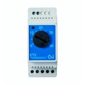Терморегулятор для теплого пола на DIN-рейку OJ ETV-1999